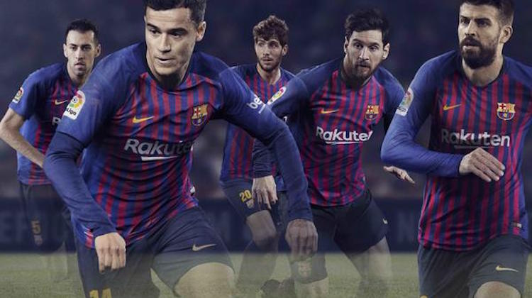 Barça home kit 2018-2019 Nike