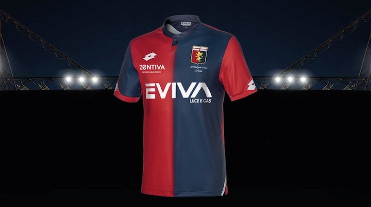 Genoa home kit 2018-2019 Lotto