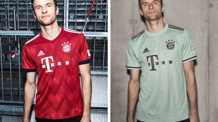 Bayern home away kit 2018 2019