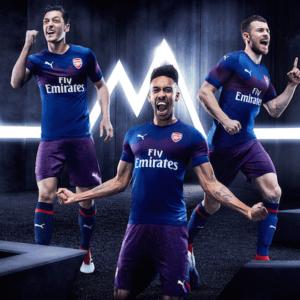 Arsenal away kit 2018-2019