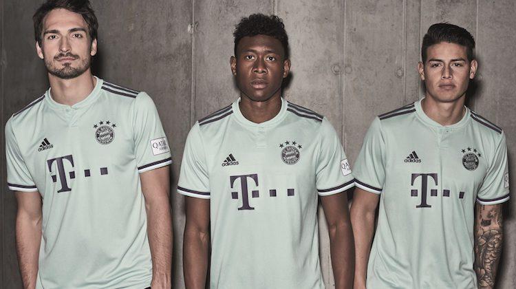 Bayern away kit 2018 2019