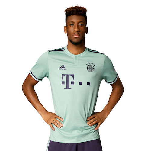 Brillano i diamanti sulla maglia del Bayern Monaco 2018-2019 | Ama ...