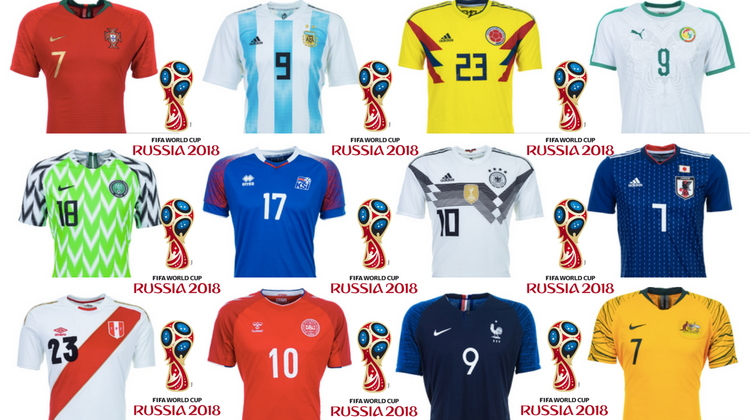 classifica maglie più belle mondiale 2018