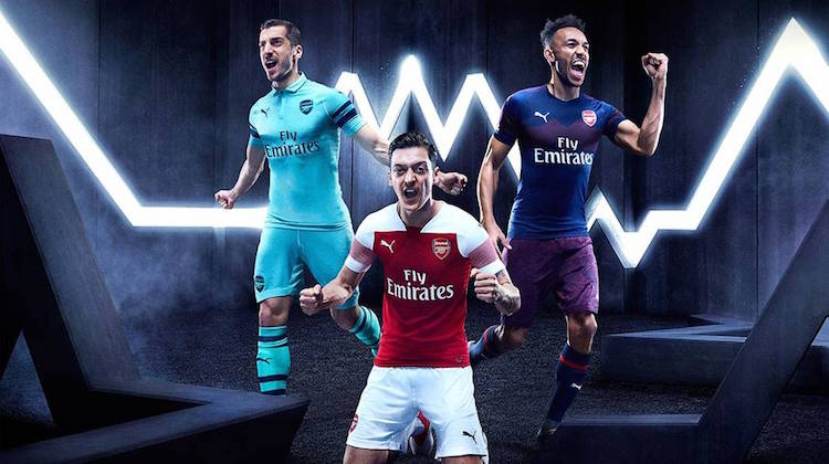 Arsenal home away third 2018 2019