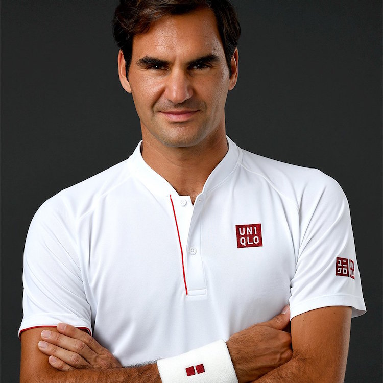 Outfit Federer Wimbledon Uniqlo