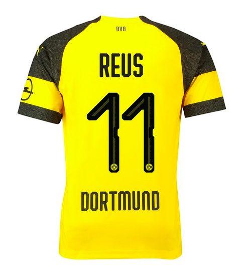 Batte il cuore di Dortmund sulle maglie del Borussia 2018-2019 ...