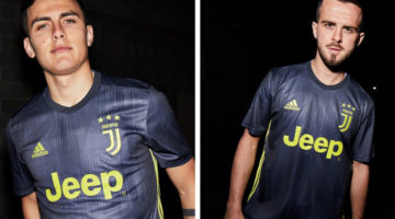 Juve third kit 2018 2019