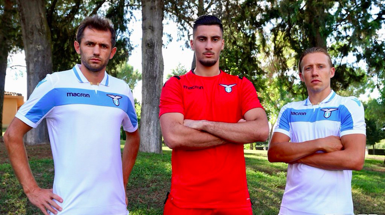 Lazio home kit Europa League 2018 2019