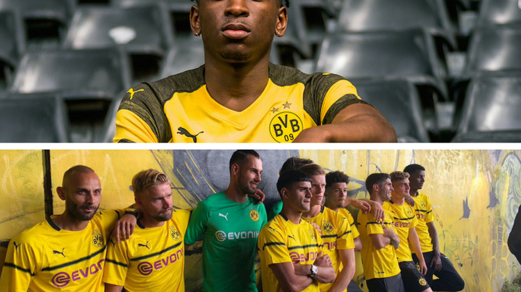 Borussia Dortmund kits 2018 2019 Puma