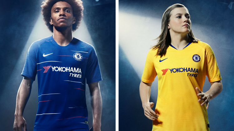 Chelsea home away kit 2018 2019