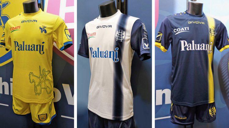 Chievo Verona kit 2018-2019 Givova