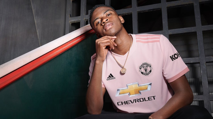 Manchester United away kit 2018 2019