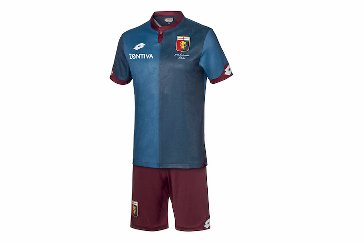 Genoa third kit 2018 2019 Lotto