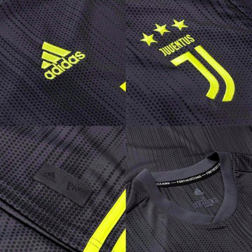 Parley e adidas per la terza maglia 2018 2019 della Juventus