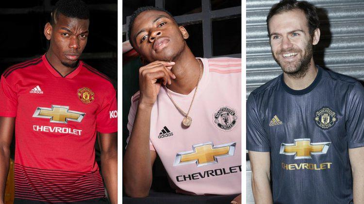 Manchester United kits 2018 2019