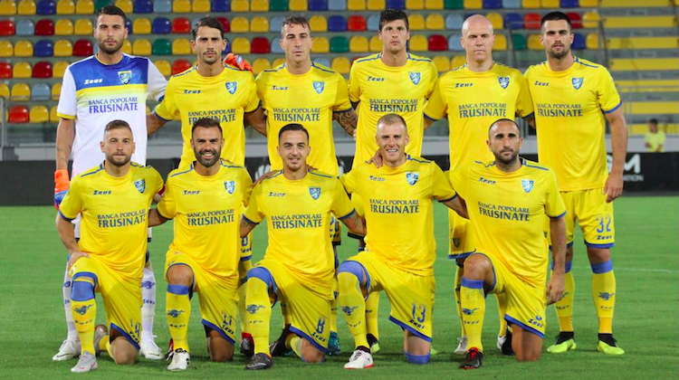Frosinone home away kit 2018 2019