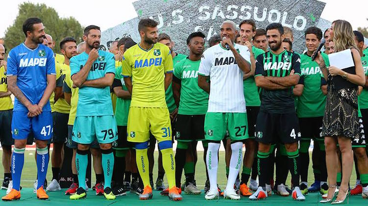 Sassuolo kit home away third 2018 2019