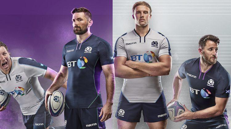 Scozia rugby maglia home away 2019