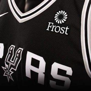 Spurs sponsor canotta Nba