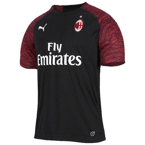 Melange rosso e nero per la terza maglia del Milan 2018-2019 | Ama ...