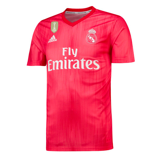 Rosso corallo: terza maglia del Real Madrid di Parley For The ...