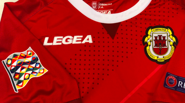 Bandiera manica maglia Nations League