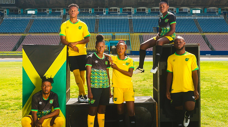 Giamaica kit home away 2018 2019