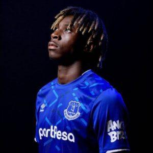 Maglia Everton di Moise Kean