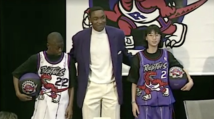 Toronto Raptors maglie 1995