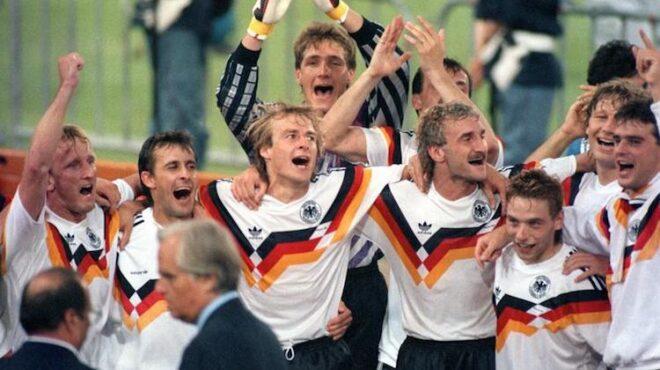 Divisa Germania Mondiali Italia 90
