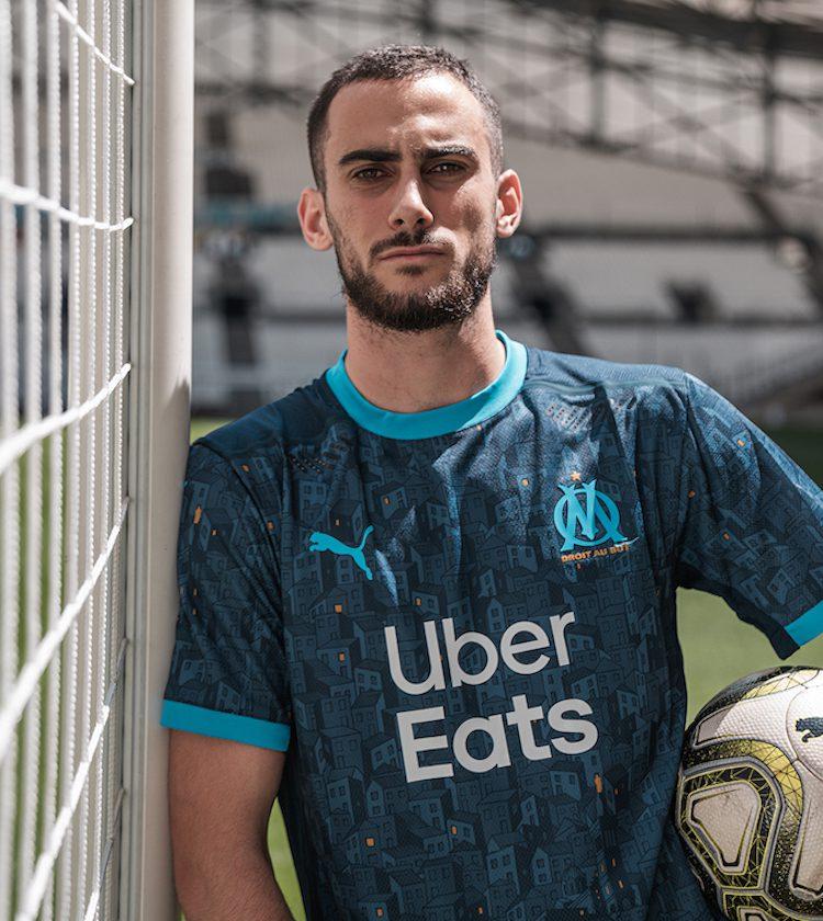 Olimpique Marsiglia, maglia home e away 2020-21 | Ama la Maglia