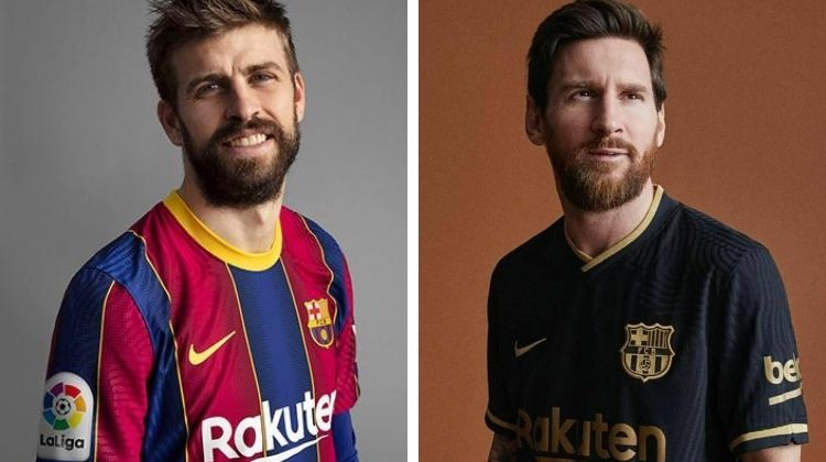 Home e away kit Barcellona 2020-21 di Nike