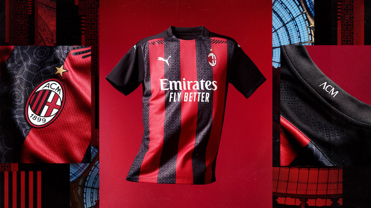 Milan home kit 2020-21 Puma