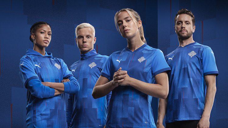 Divise calcio Islanda 2020-2021