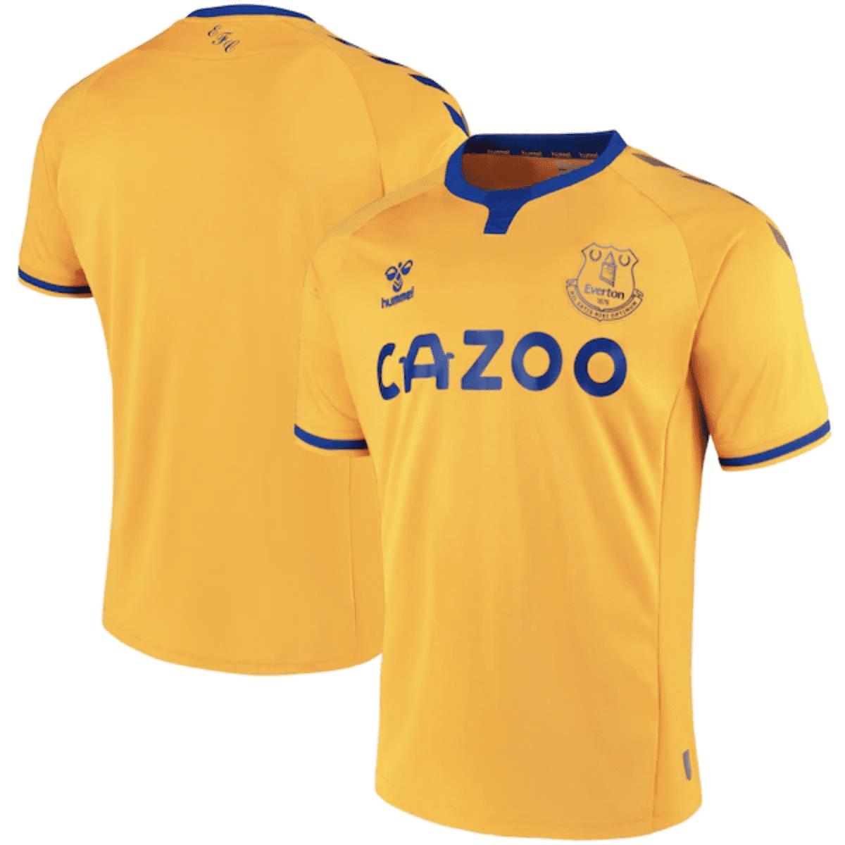 Everton-away-kit-2020-2021 | Ama la Maglia