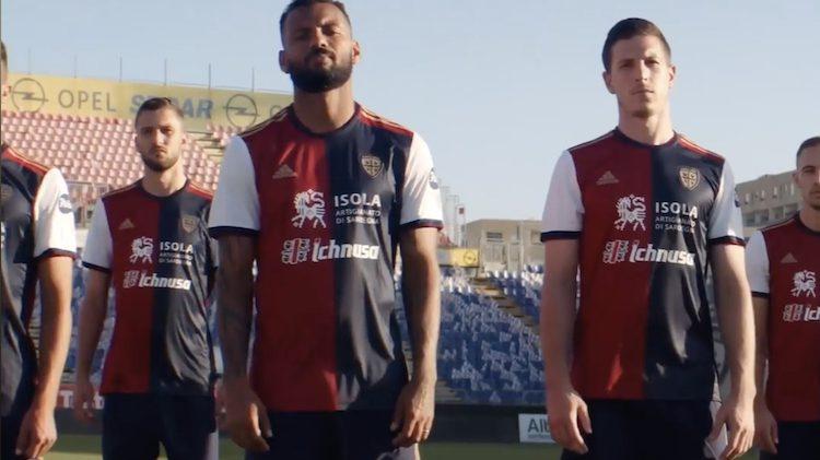 Cagliari home kit 2020-21