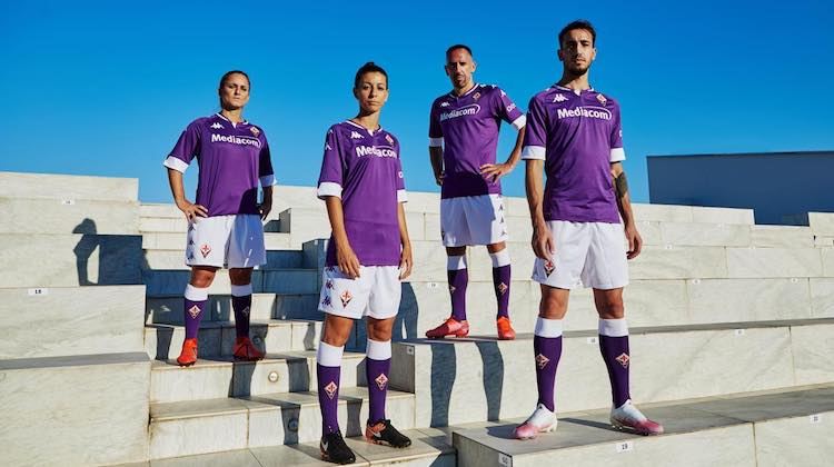 Fiorentina home kit 2020-2021 Kappa