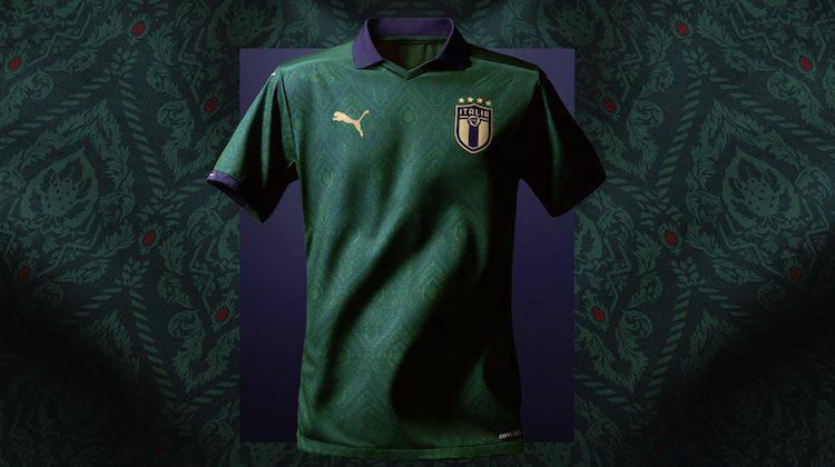 Italia kit verde Puma 2020