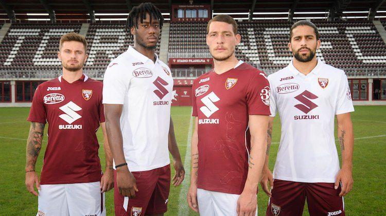 Prima e seconda maglia Torino 2020-2021 di Joma