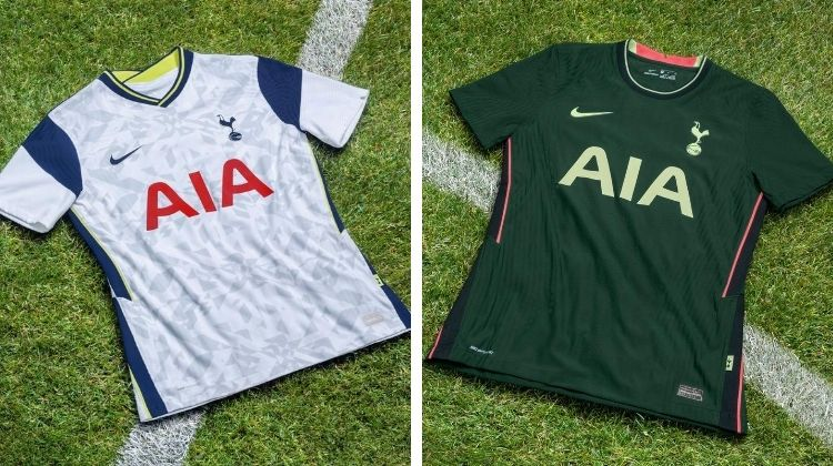 Home away kit Tottenham 2020-21