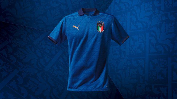 Italia home kit Puma 2020-2021