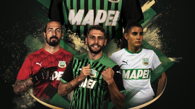 Sassuolo kit 2020-21 Puma