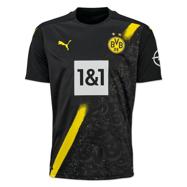 Borussia Dortmund, maglia Champions League 2020-21   Ama la Maglia