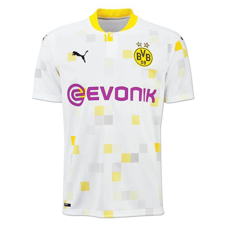 Borussia Dortmund, maglia Champions League 2020-21 | Ama la Maglia