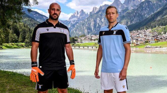 Maglia Lazio per la Champions 2020-21